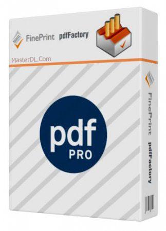 دانلود نرم افزار ساخت فایل PDF به نام FinePrint PdfFactory Pro 4.70