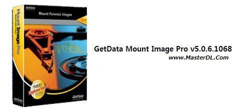 دانلود نرم افزار ساخت درایو مجازی GetData Mount Image Pro v5.0.6.1068