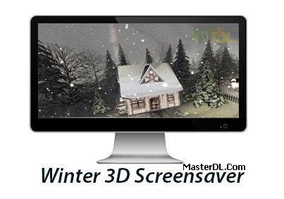 Winter 3D Screensaver