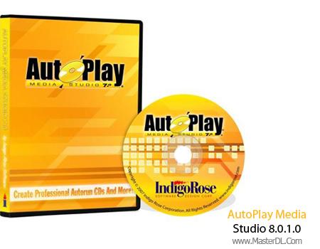 نرم افزار حرفه ای ساخت اتوران برای انواع دیسک AutoPlay Media Studio 8.0.1.0