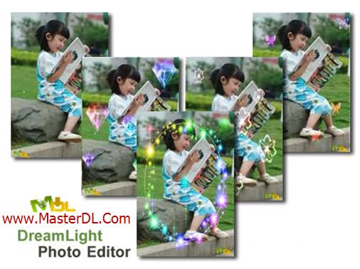 افکت گذاری بر روی تصاویر با DreamLight Photo Editor