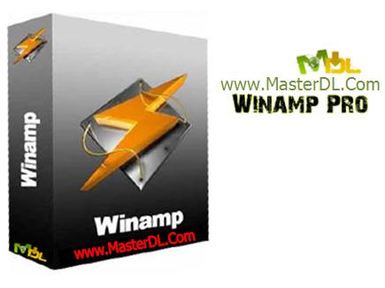 پخش انواع فایل های صوتی با winamp pro 5
