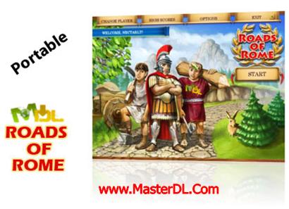 دانلود بازی ساخت جاده های رم باستان Portable Roads of Rome v1.0