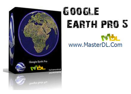 مشاهده سرتاسر دنیا در کامپیوتر با Google earth 5