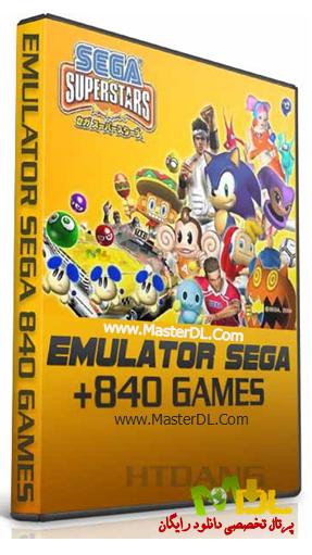 دانلود 840 بازی از کمپانی سگا Emulator Sega Mega Drive 840 games