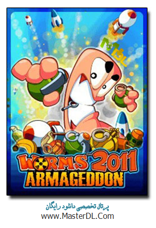 بازی زیبا و جذاب Worms 2011 Armageddon با فرمت جاوا