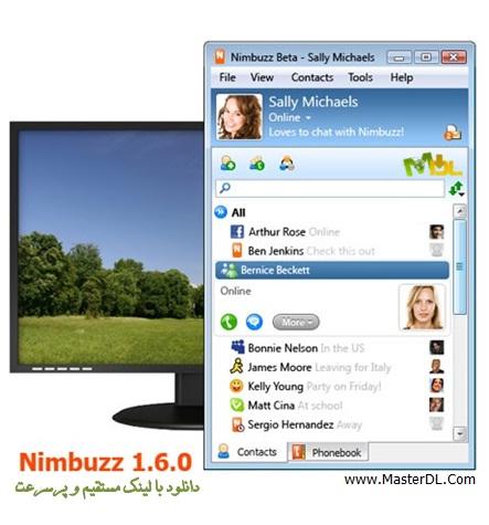 دانلود مسنجر محبوب Nimbuzz 1.6.0