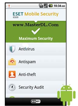 ESET Mobile Security v0.8.0.0 beta (www.MasterDL.Com)