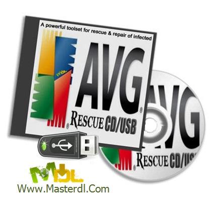دانلود دیسک نجات AVG Rescue CD v100.110314