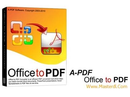 تبدیل فرمت های مختلف به PDF با نرم افزار A-PDF Office to PDF v5.3.0