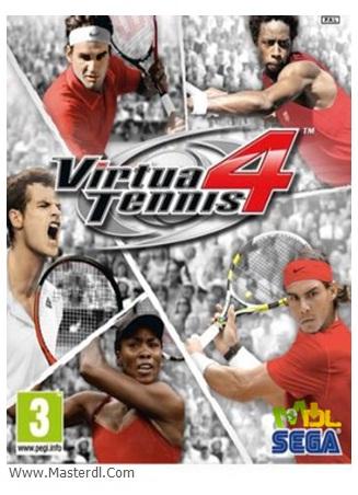 دانلود بازی بسیار زیبای Virtua Tennis 4