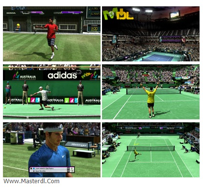 بازی های Virtua Tennis