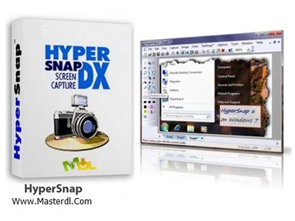 دانلود نرم افزار Portable HyperSnap v7.05.02
